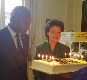 Amb Altidor and Ms. Shapley will now –